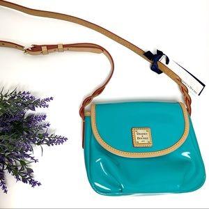 NEW Dooney & Bourke Patent Leather Crossbody Bag
